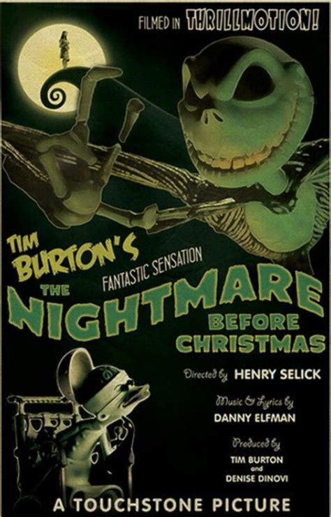 nightmare before christmas 1930 retro by ehronasher