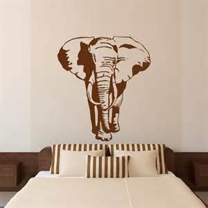 African Wall Stickers elephant wall decal stickers african animals wall decal african