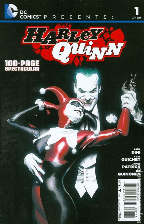 harley quinn at high dc books dc comics presents harley quinn 2014 comic books