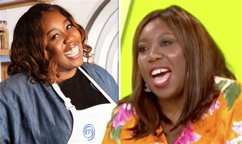 celebrity masterchef 2018 on tv celebrity masterchef 2018 contestants chizzy akudolo jokes
