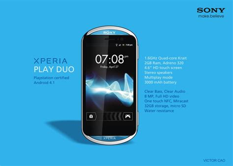 sony xperia duos mobile price sony xperia play duo is a jelly bean playstation phone