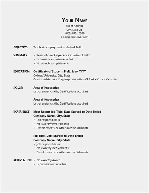 Resume Template For Office by Open Office Resume Template Learnhowtoloseweight Net