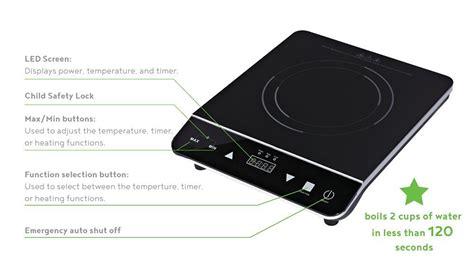 induction cooktop non magnetic induxpert induction cooktop burner 100 money back guarantee