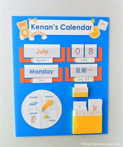 calendars for children to make best 25 calendar ideas on learning