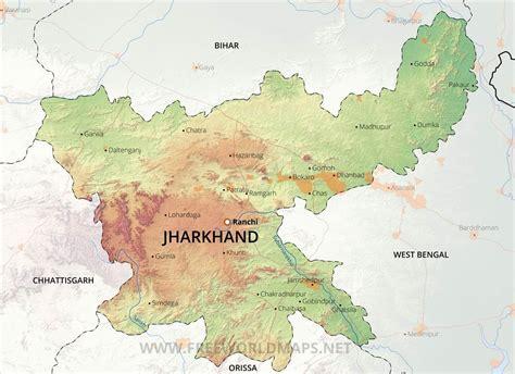 jharkhand maps