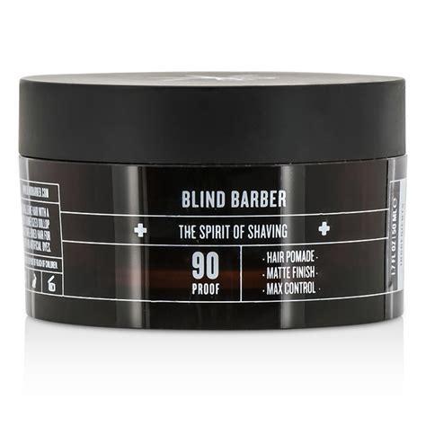 pomade matte finish blind barber 90 proof hair pomade matte finish max