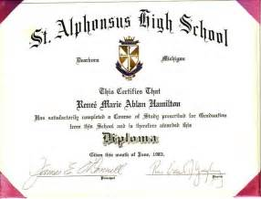high school diploma templates high school diploma template lisamaurodesign