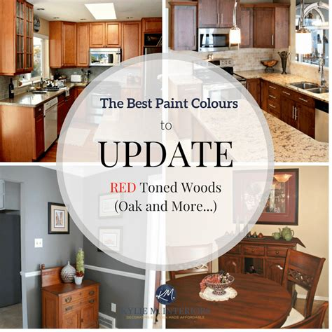 paint colors that go with oak cabinets the best paint colours to go with oak or wood trim