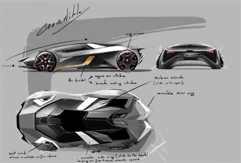 Lamborghini Car Designer Lamborghini Diamante Concept Car Design