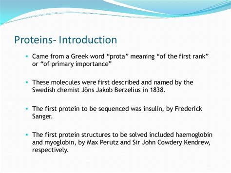 protein definition proteins simplified