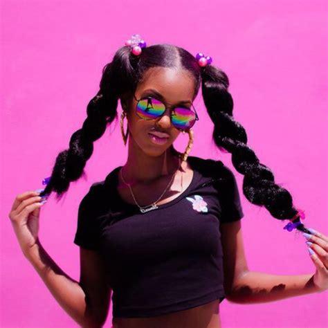 cute hairstylesondoesross for black people mood board pink x melanin golden queen