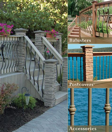 Decorative Deck Balusters Deckorators Balusters At Deck Builder Outlet Store