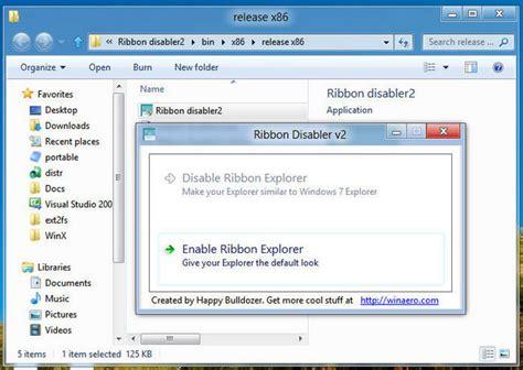 ribbon windows ribbon disabler for windows 10 and windows 8