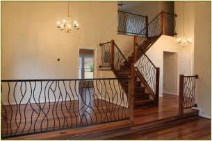 Banister Garland Staircase Railing Ideas Home Design Ideas