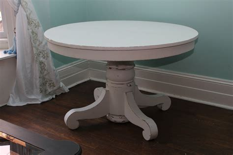 Distressed White Dining Table Custom Order Antique Dining Table White Distressed Shabby Chic