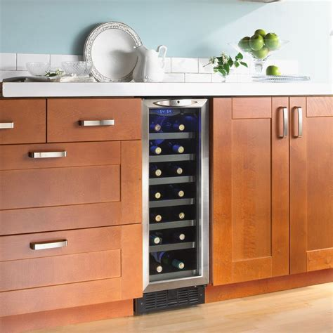 built in wine cooler cabinet 23 best images about fridges and wine coolers on