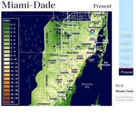 Miami Dade Map by Maps How Sea Level Rise Could Impact Miami Dade County Wlrn