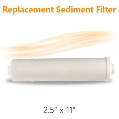 Inline Sedimen Filter Air 5 Micron Ss 2 Osmosis Filter Air 11 quot x 2 5 quot inline sediment 5 micron connect water filter