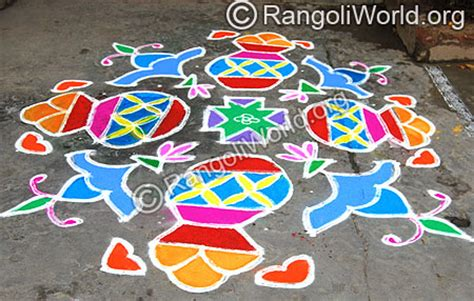 Car Kolam kolam with 21 dots with pongal kolam search results
