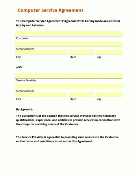 in principle agreement template agreement in principle template template update234