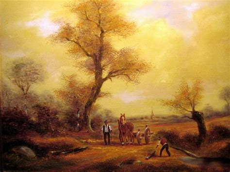 painting workshop scenery beautiful paintings and child flower scenery fruits