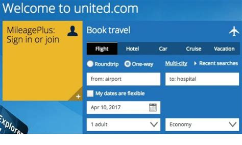 united airline sign in welcome to unitedcom mileage plus book travel sign in or