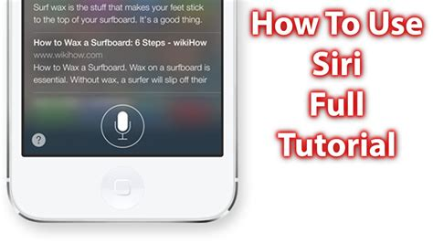 youtube tutorial iphone 5c how to use siri on ios 7 ios 8 iphone 5s 5c ipad and
