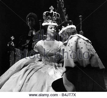 film footage of queen victoria dorethy tutin actress march 1963 as queen victoria in