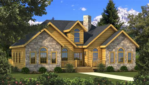 halifax log home plan by southland log homes mywoodhome