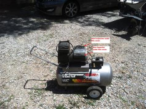 bad compressor or capacitor air compressor with bad start capacitor 2012 06 13 tractor shed