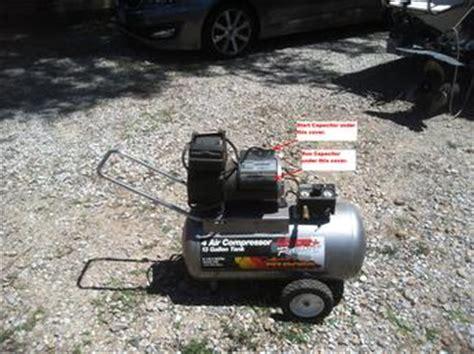 air compressor capacitor bad 28 images 15 50uf motor