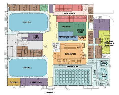 Floor Plan For Preschool Design Team For Chelsea Piers Connecticut Wins Award For