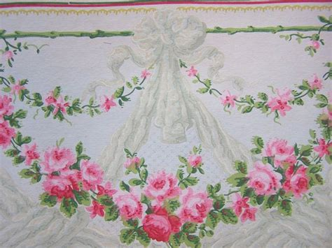 shabby chic wallpaper border 671 best images about shabby chic cottage on