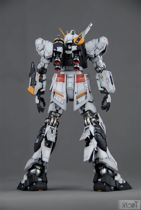 Kaos Gundam Gundam Mobile Suit 16 mg 1 100 nu gundam ver ka painted build modeled by