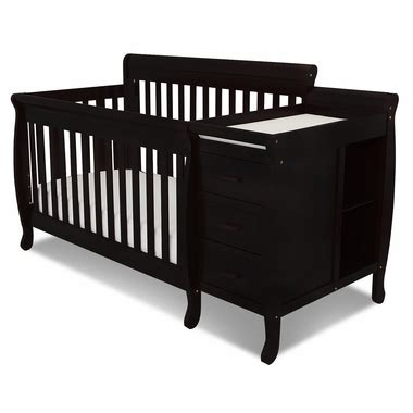 Black Convertible Baby Cribs Black Convertible Crib And Changer By Afg 515b By Afg Baby Cribs At Simplykidsfurniture