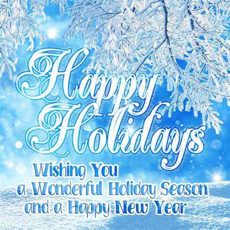 happy holidays  wishing   wonderful holiday season   happy  year