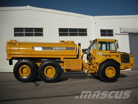 volvo ac   water tank articulated dump truck adt year  manufacture  mascus uk