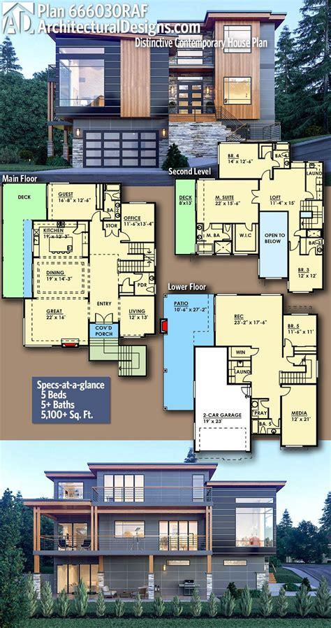 plan raf distinctive contemporary house plan