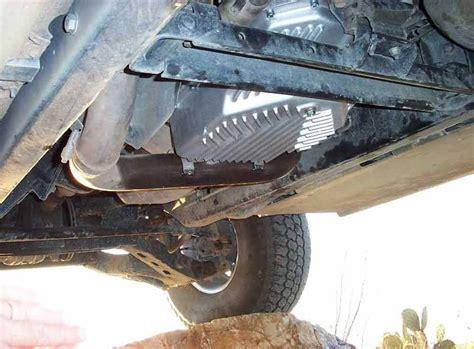 gm 4l80e 4l85e late model hummer transmission pan
