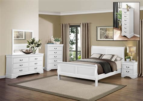 online furniture bedroom sets homelegance mayville bedroom set white 2147w bedroom set