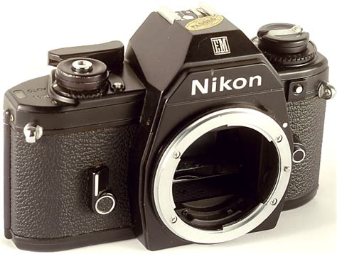 wtsell slr nikon nikon em excelent condition collectable