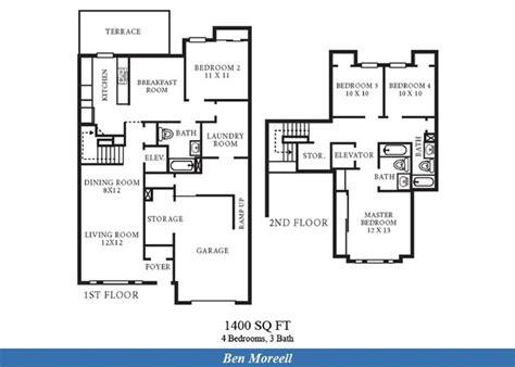station square floor plans ns norfolk ben moreell neighborhood 4 bedroom 3 bath