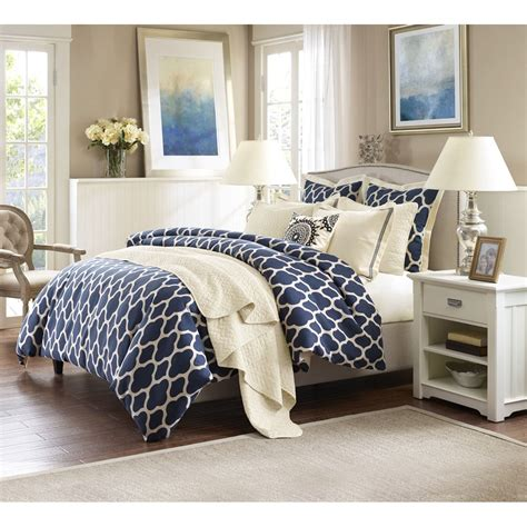 Navy Quilted Bedspread Navy Blue Bedspread King Size Bedding Sets