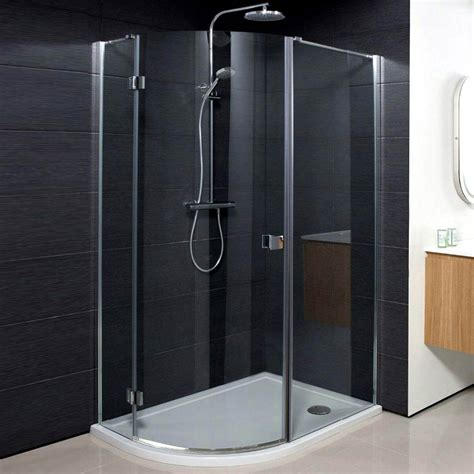 Hinged Door Shower Enclosures Simpsons Design Offset Quadrant Single Hinged Door Shower Enclosure 3 Size Options At