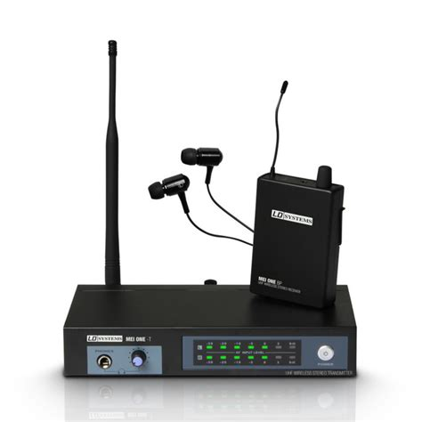 Ear Monitor ld systems mei one 3 wireless in ear monitor system at gear4music