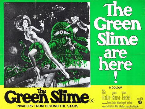 watch the green slime 1968 full movie trailer the green slime 1968 movie