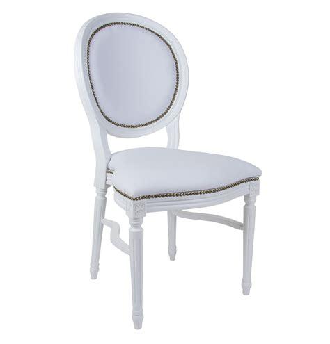 sedie a noleggio sedia in ecopelle modello luigi xvi a noleggio