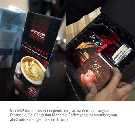 Kopi Bel Canto obsat bincang kopi di bandung cikopi