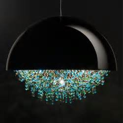 Contemporary Glass Chandeliers Contemporary Domed Chandelier