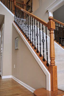replace stair banister replacing stair rails install or replace stair railings